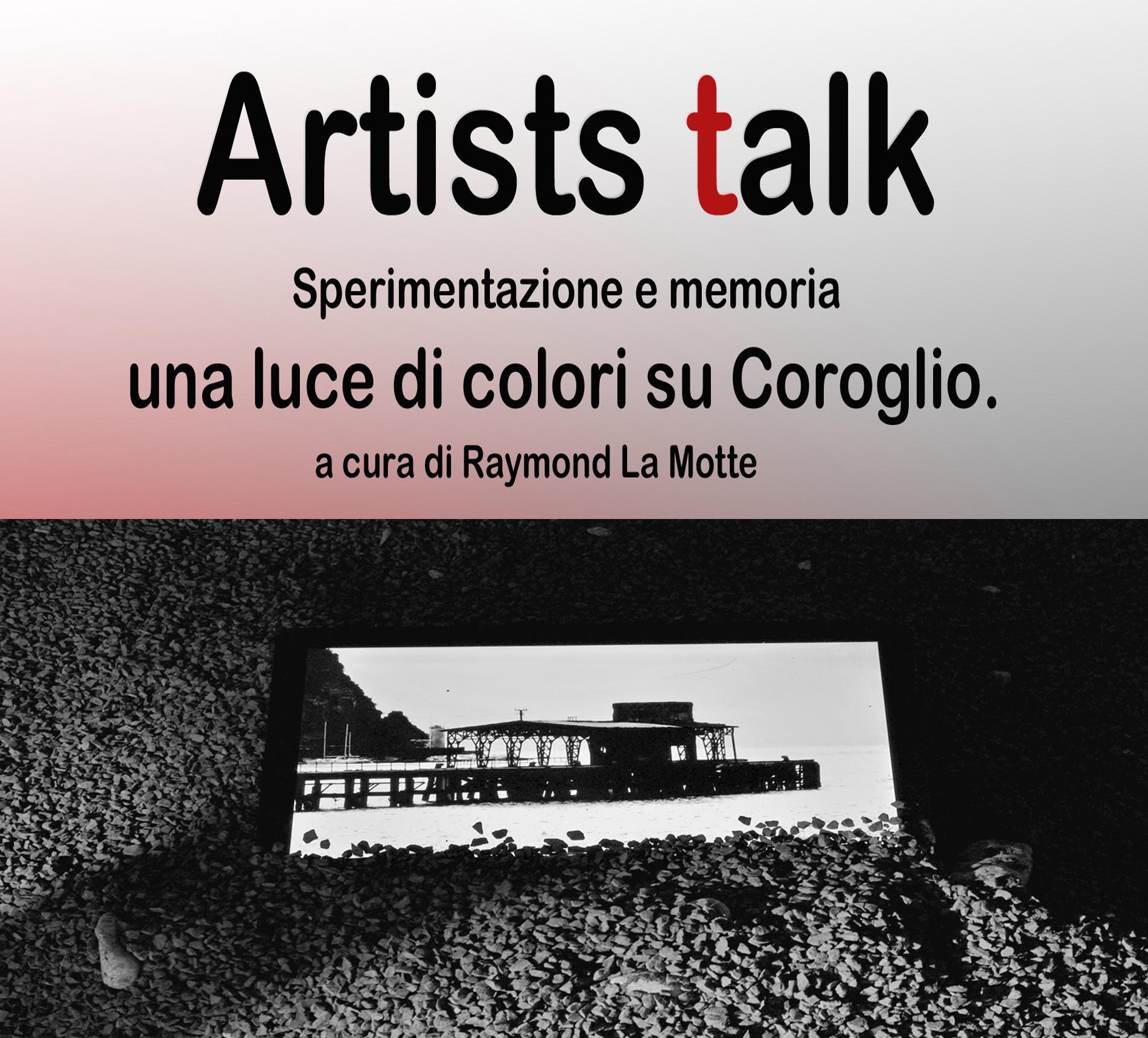 """Artists Talk  seconda edizione – """"Una Luce di colori su Coroglio"""""""